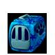 Cool Blue Pet Carrier