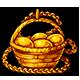 Golden Basket Charm