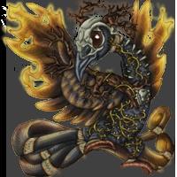 Skull Raven