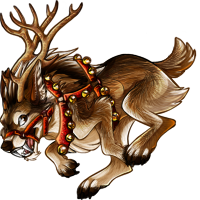 Cheerful Reindeer