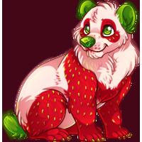 Strawbeary Panda