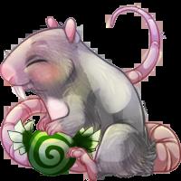 Christmas Grey Mouse